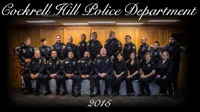 Cockrell Hill Police Department 2015