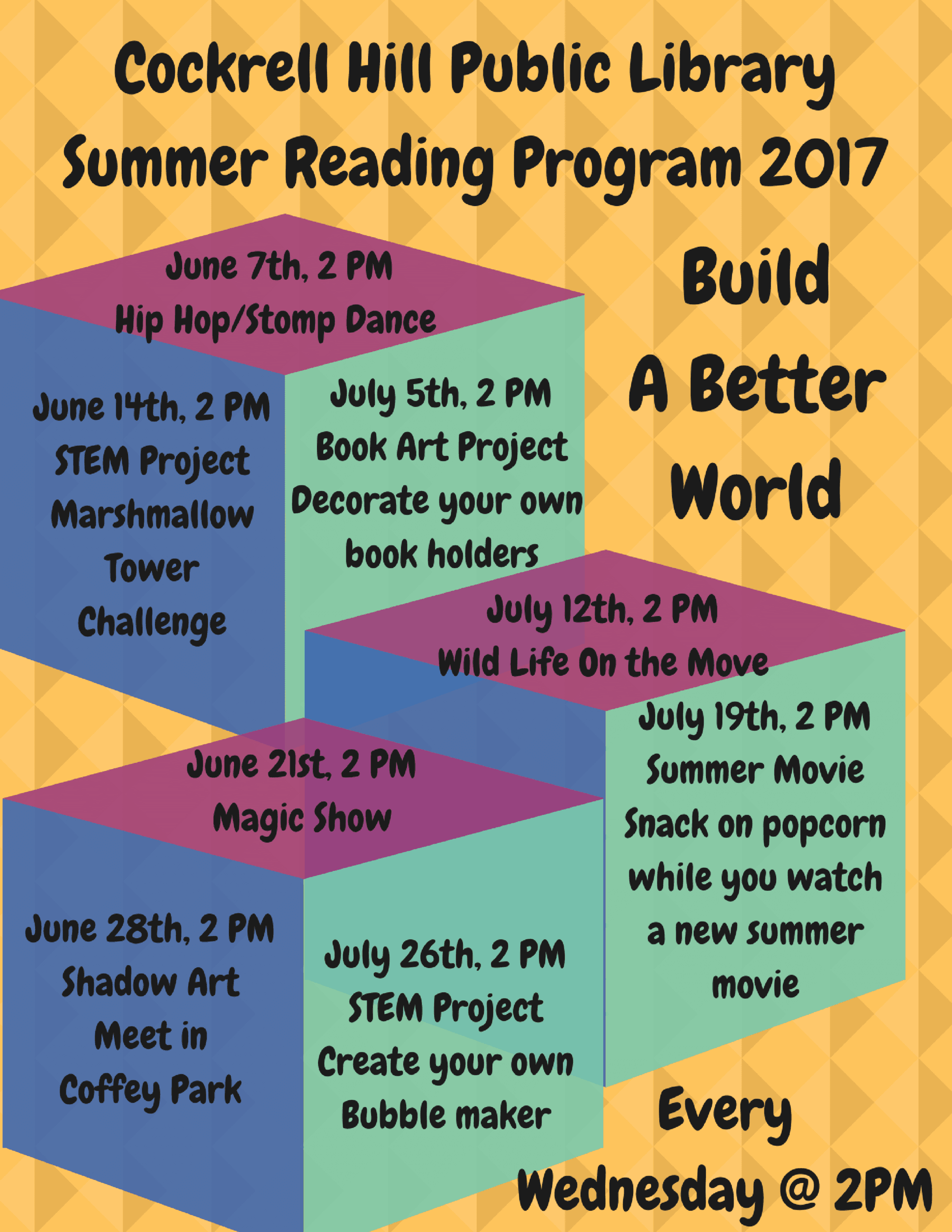 Cockrell Hill Public LibrarySummer Reading Program 2017
