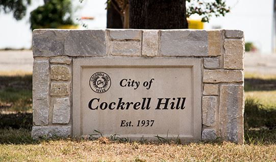 City of Cockrell Hill sign